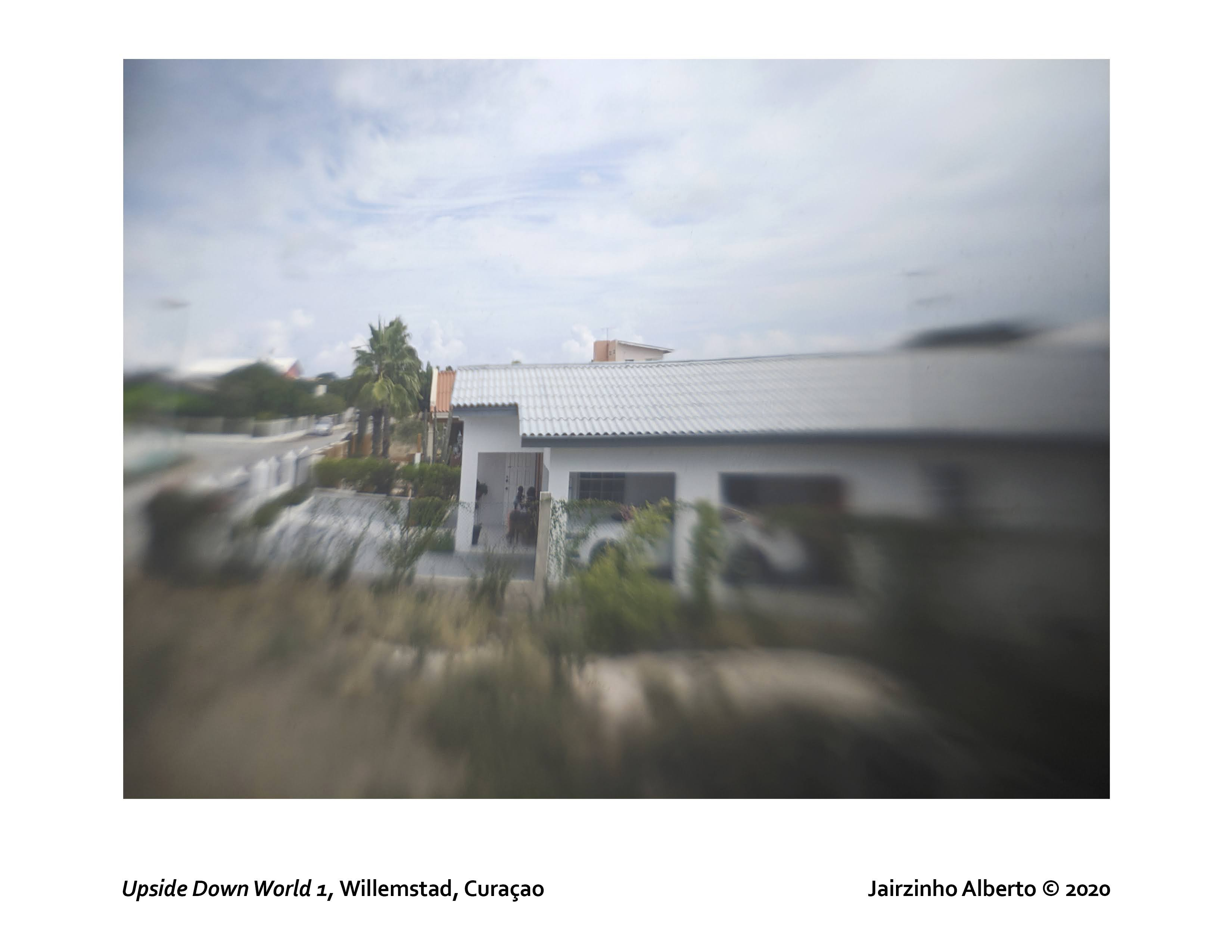 Jairzinho Alberto camera obscura print of his neighborhood