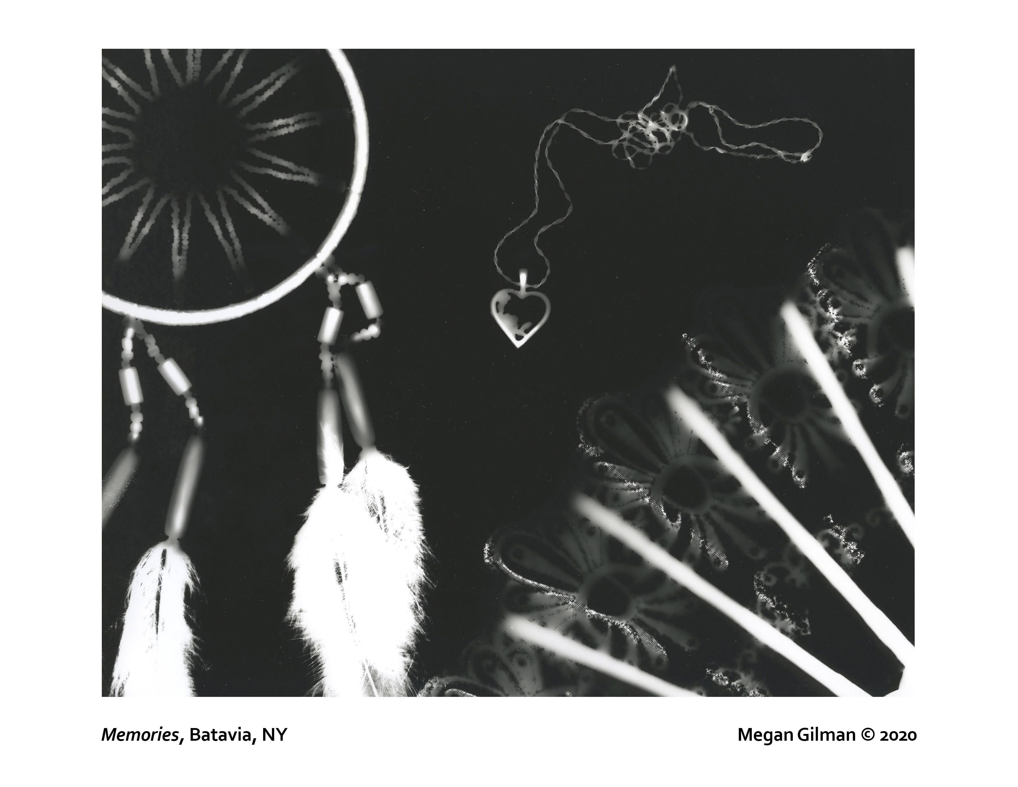 Megan Gilman photogram print
