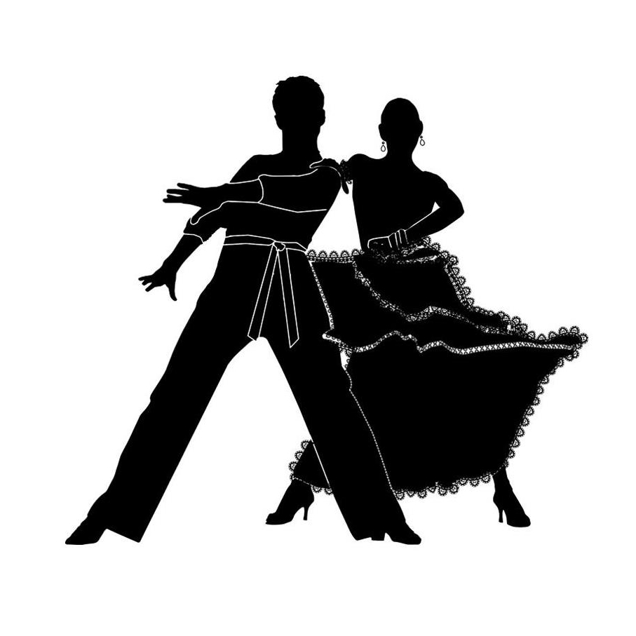 graphic of two people salsa dancing