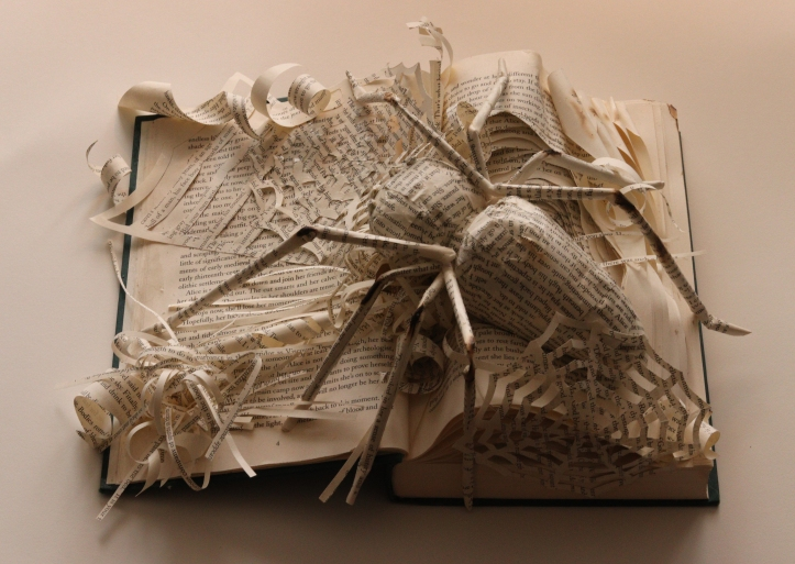 Jessica Augugliaro ART105 altered book project